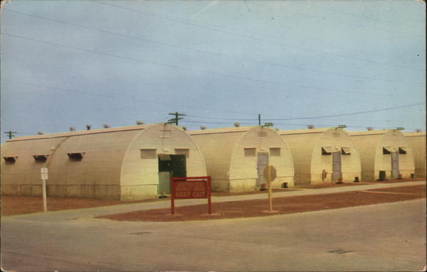 Quonset Huts San Diego Ca Postcard
