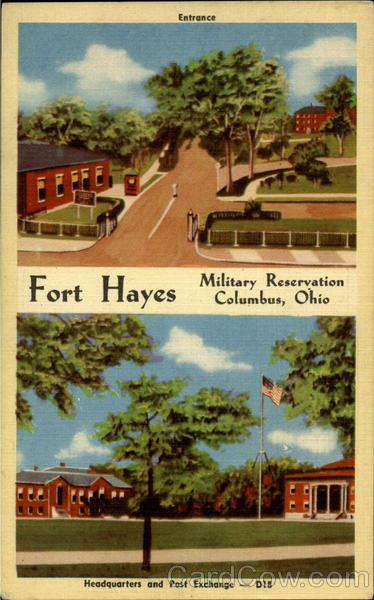 Fort Hayes Columbus Oh