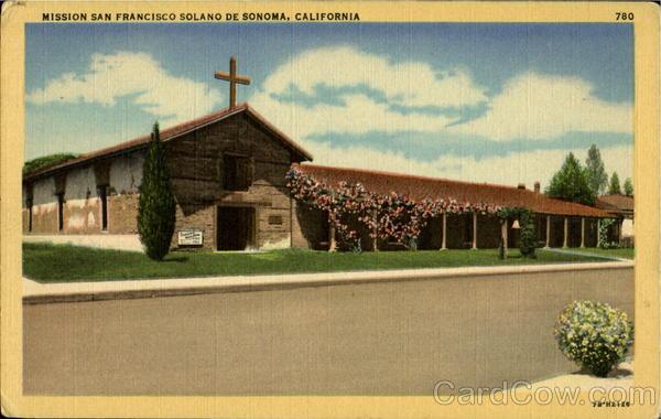 Mission San Francisco Solano De Sonoma Missions CA