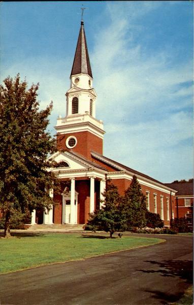 Henry Pfeiffer Chapel Pfeiffer College Misenheimer NC