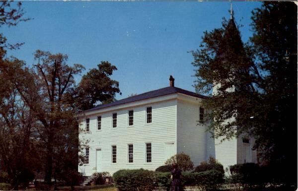 Historic Old Bethesda Presbyterian Church Aberdeen NC