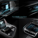 Audi e-tron quattro concept – OLED-based operating and display