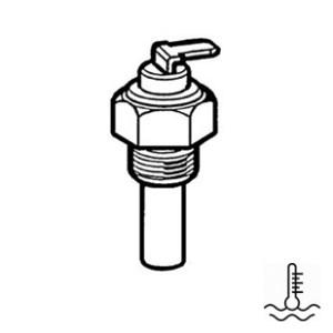 Vattentempgivare