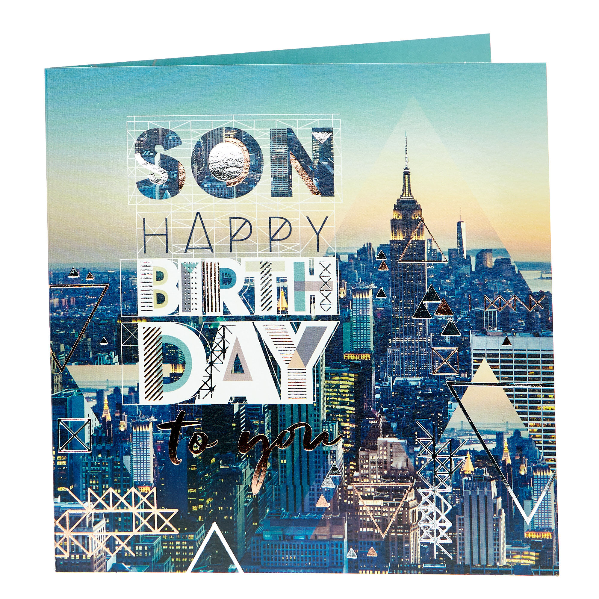 Birthday Card For Son Personalised Son Birthday Greetings Cards Uk Card Factory