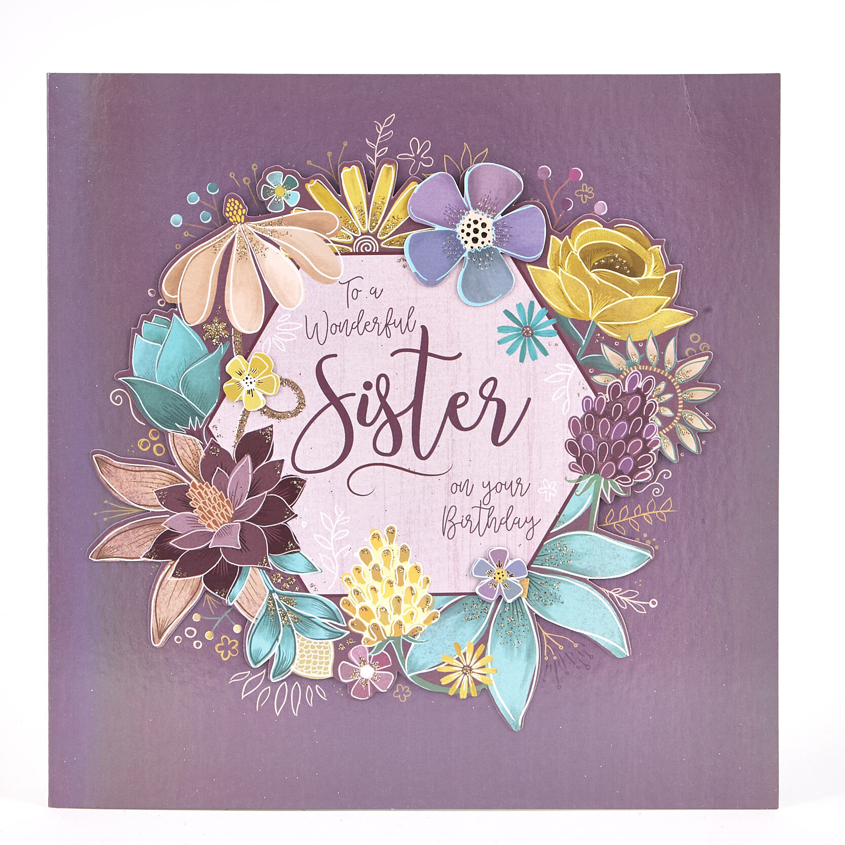 Birthday Cards For Sister Personalised Funny Sister Birthday Cards Uk Card Factory