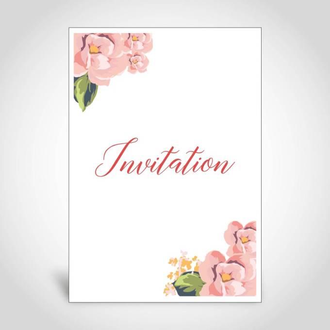 Floral Wedding Card – CF141
