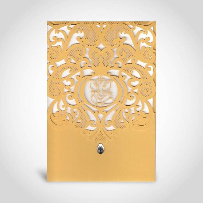 Laser Cut Hindu Wedding Invitation – CFK20