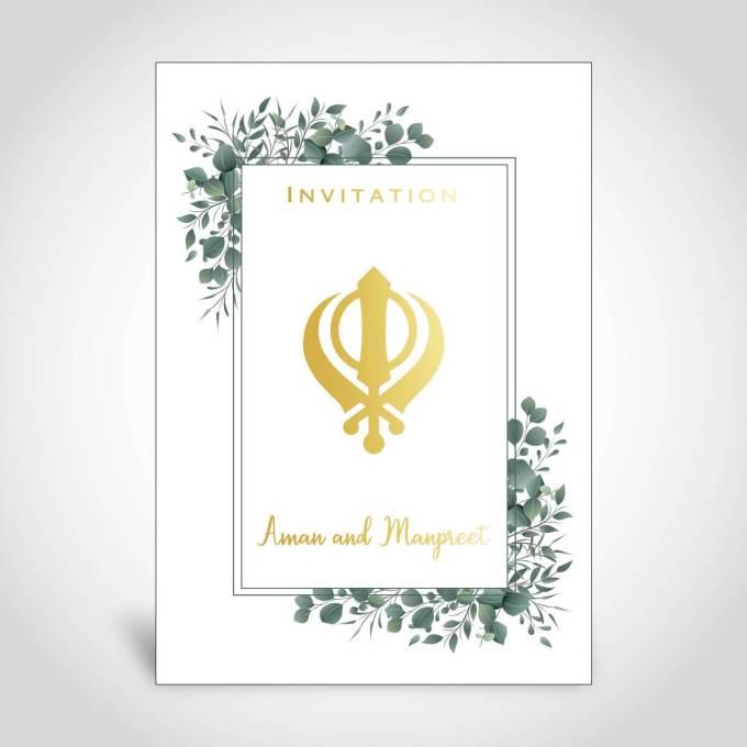 Indian Wedding Card – CFS122