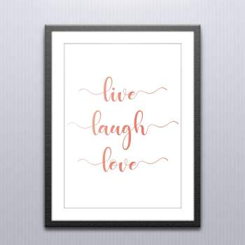 Live Laugh Love Wall Art and Posters