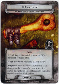 Image result for LOTR LCG Troll Key