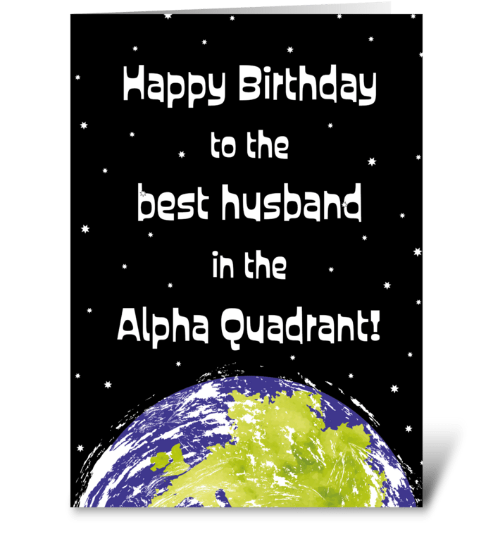 83 Star Trek Husband Birthday Card Send This Greeting Card Designed By Size3art Card Gnome