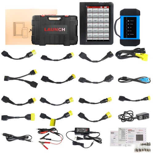 Launch X431 V+ HD3 Heavy Duty Truck Diagnostic Tool Package List 1