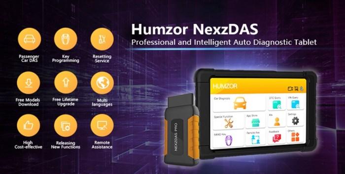 Humzor NexzDAS Pro 1