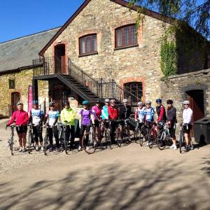 Womens Ride Cafe Stop