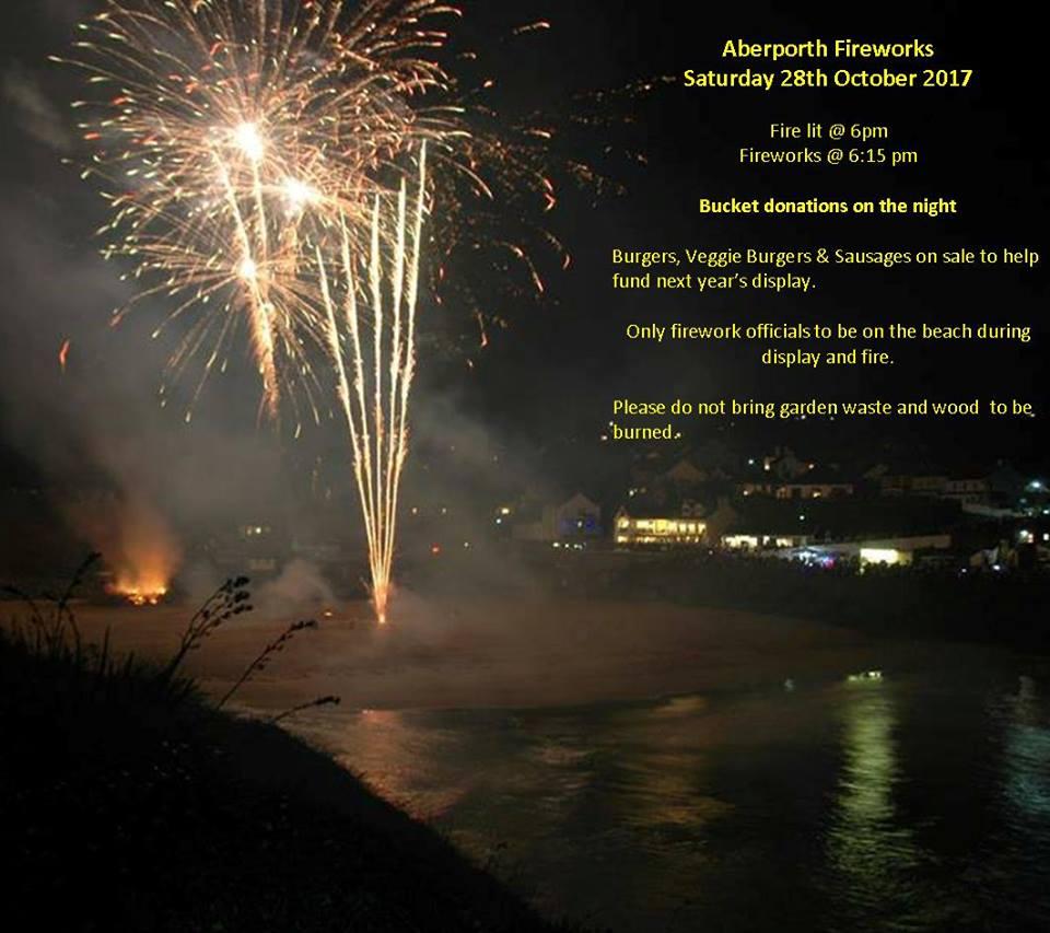 Aberporth fireworks