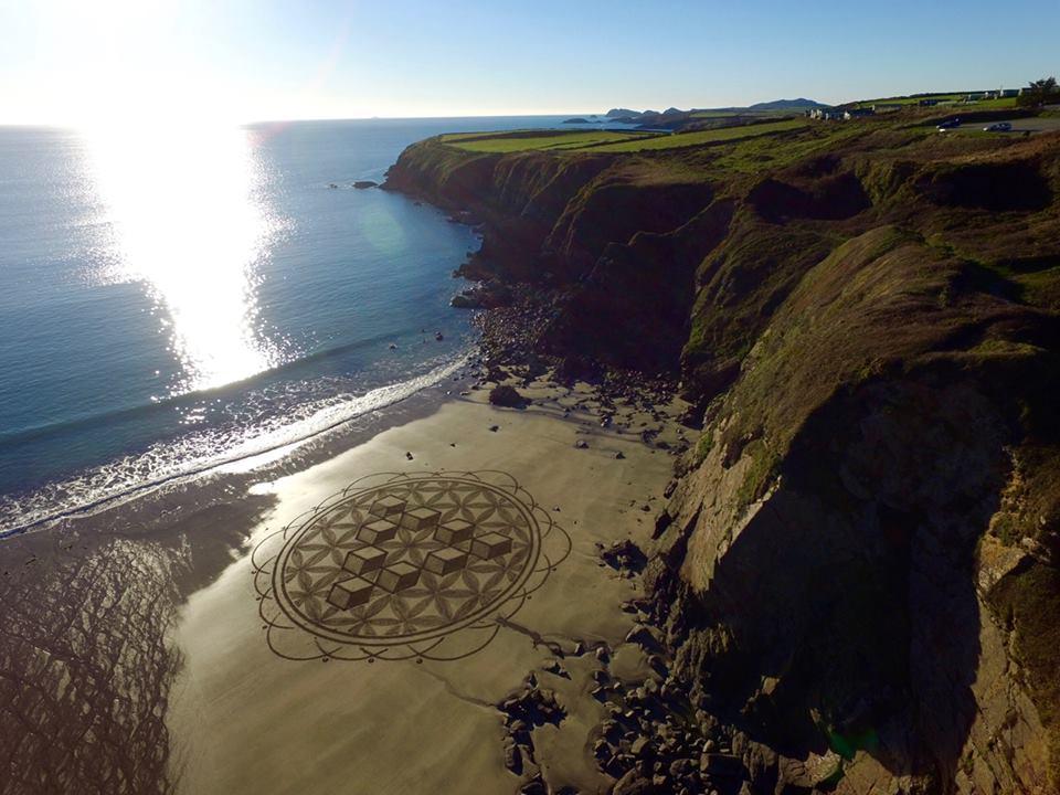 Marc Treanor - Sand Circle at Mwnt