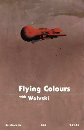 Flying Colours with Wolvski