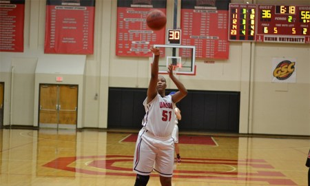Senior forward DeAnna Thompson has played for Union the past two seasons. Submitted photo.