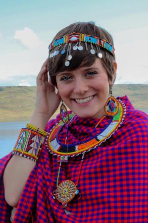 Gillian Gandy is a freshman undeclared major from South Africa. | Submitted photo