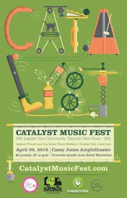 Catalyst Music Fest requests your presence on April 29.