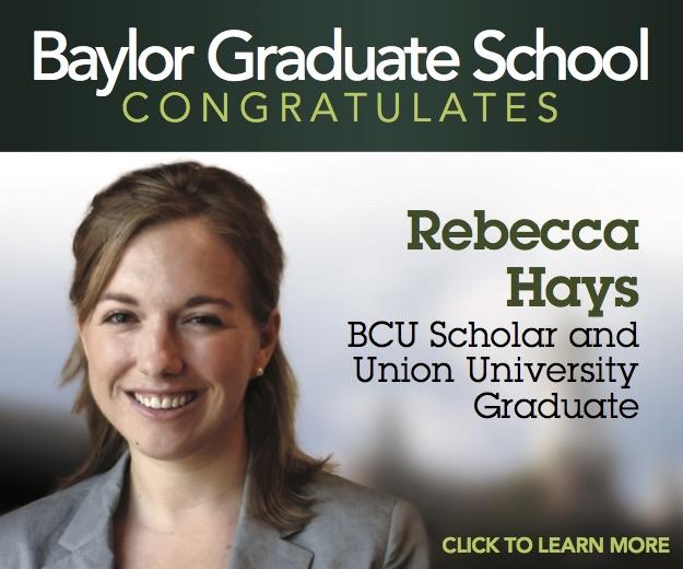 Baylor Congratulates Rebecca Hays