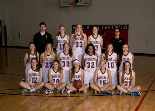 WIAA Girls Regional Basketball FDL Vs Homestead
