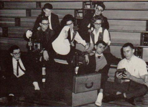 #TBT Throwback to the DCC  1964 Yearbook Photographers