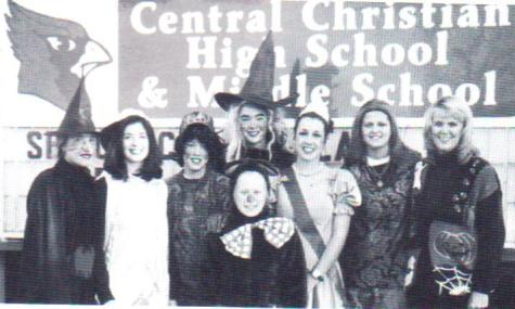 #TBT Throwback to 1999 DCC Teens for Life Halloween