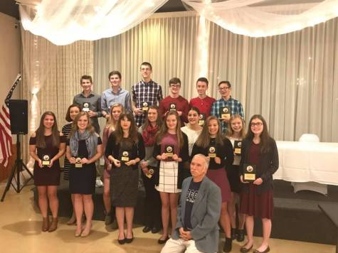 Cardinal Cross Country Teams Honored at Banquet