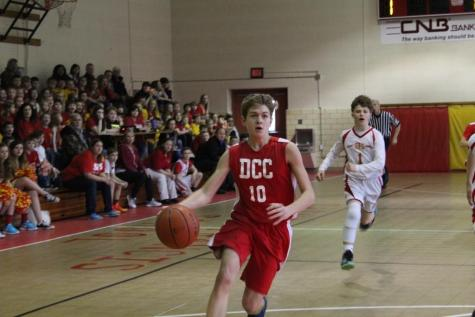 DCC vs. St. Francis 8th Grade Basketball Game – Lots of Photos