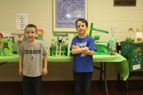 DCC Elementary Students Try to Trap Leprechauns