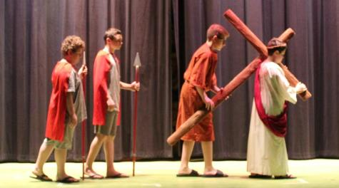 DCC 6th Grade to Put on Yearly Passion Play