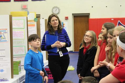 DCC Elementary Science Fair is a Great Success