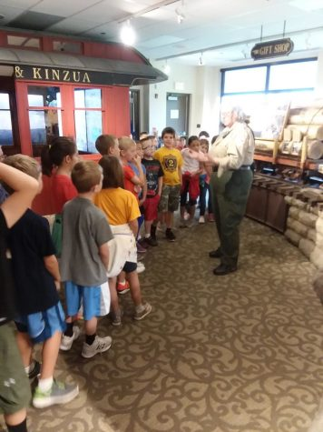 DCC 2nd Graders Visit Kinzua Bridge State Park – Photo Gallery