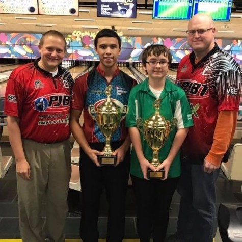 Student Spotlight: Antonio Willar Takes First in State Bowling Tournament