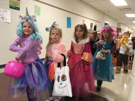 DCC Elementary Students Enjoy the Fun of Halloween
