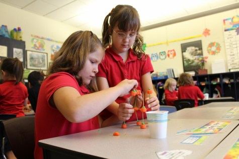 DCC First Grade Learns About Engineering in a STEM Lesson