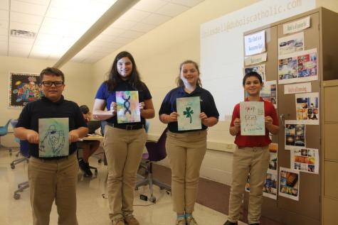 DCC 6th Graders Study Saints and Scientists