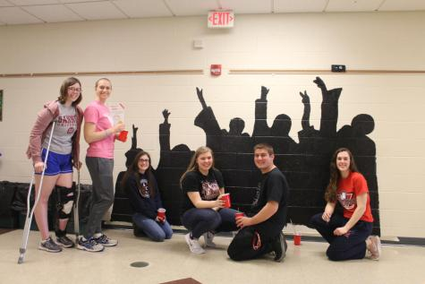 Rotary Interact Club Adds Inspiring Murals to DCC Hallways