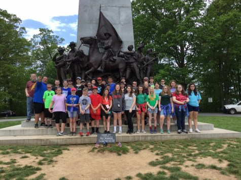 DCC 6th Grade Explore the Battlefields of Gettysburg – Lot of Photos