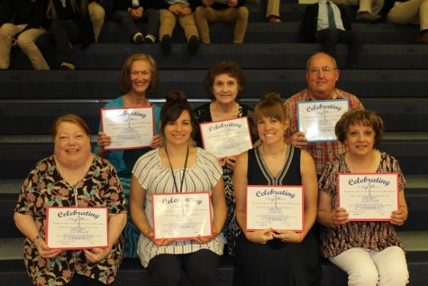 DCC Teachers Awarded For Years of Service