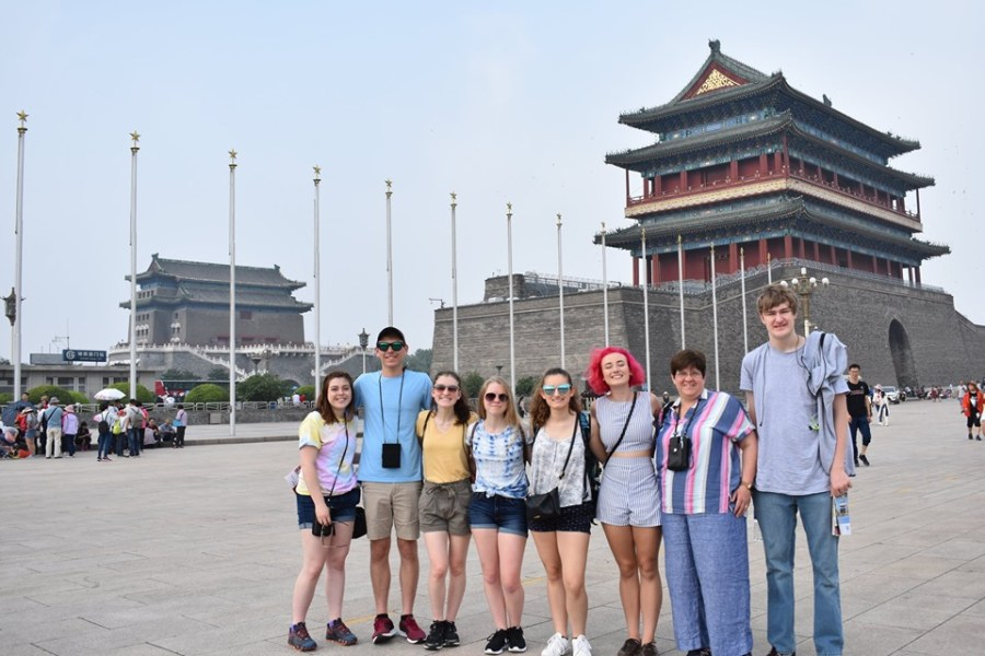 Photo Gallery of the DCC Students' Trip to China