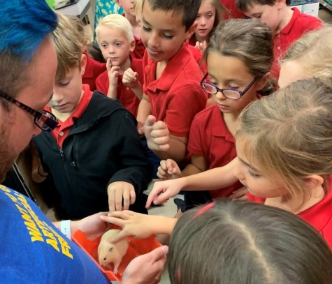 DCC First Grade Learns about Metalwork with BCAT