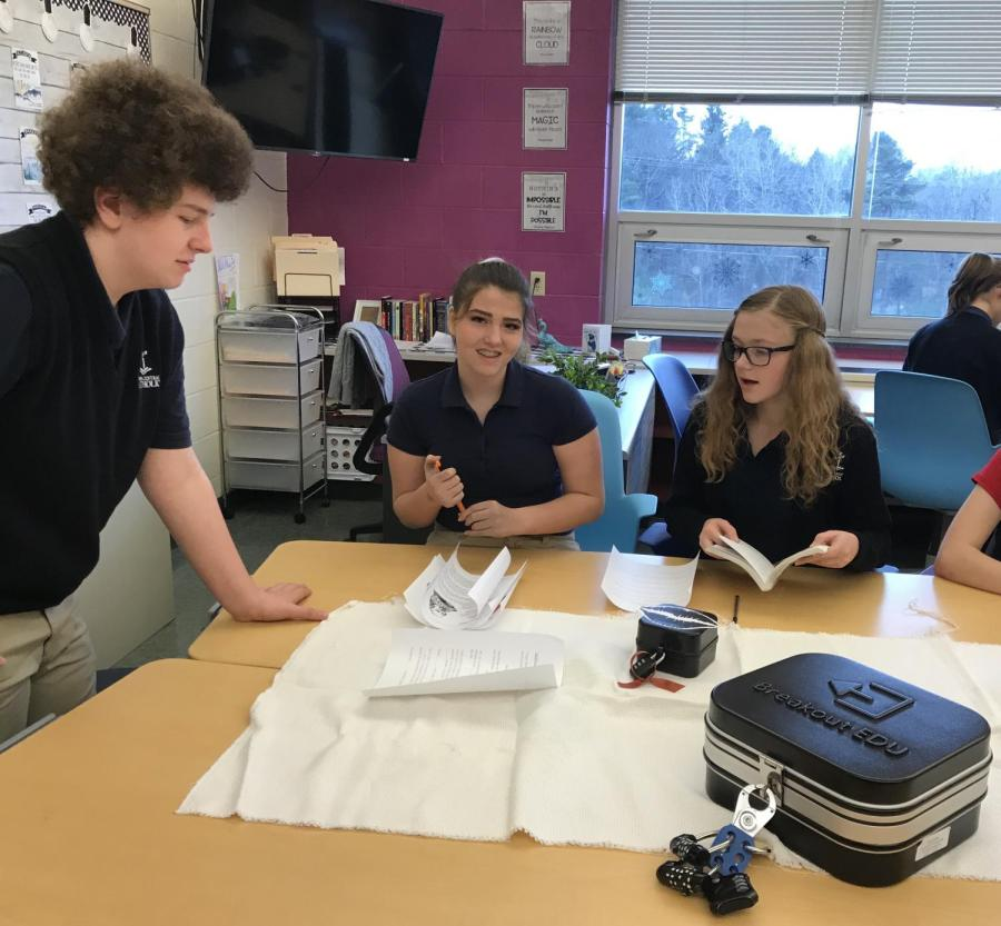 8th Grade Reviews Romeo and Juliet with Breakout Boxes