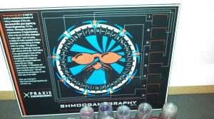 Shmooganography 2014 Steganography Chevron Poster Board