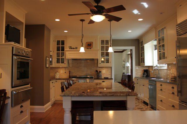 kitchen remodel, large island