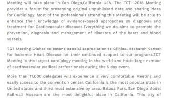Debaters At Interventional Cardiology Meeting Literally Put