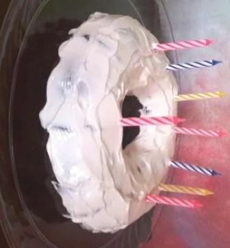 Birthday Cake recipe page