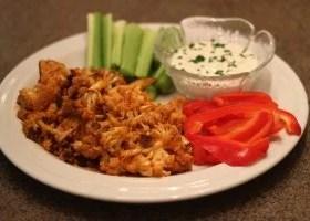 CardioMender, MD diet recipe buffalo cauliflower substitute for buffalo chicken wings