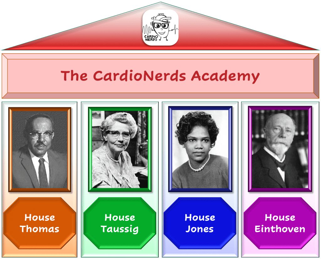 CardioNerds Academy Houses